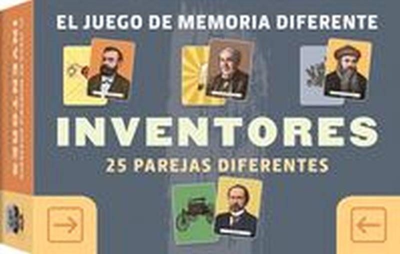 INVENTORES - JUEGO DE MEMORIA DIFERENTE - 25 PAREJAS DIFERENTES