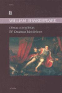 OBRAS COMPLETAS IV - WILLIAM SHAKESPEARE