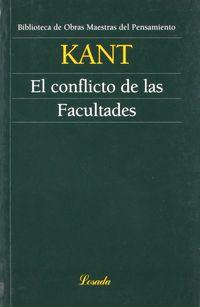 El conflicto de las facultades - Immanuel Kant