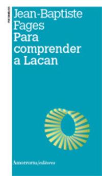 Para Comprender A Lacan - Jean-Baptiste Fages