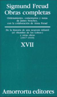 O. C. XVII - DE LA HISTORIA DE UNA NEUROSIS INFANTIL CASO DEL HOMBRE