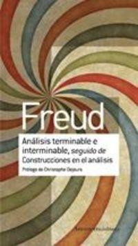 ANALISIS TERMINABLE E INTERMINABLE, SEGUIDO DE CONSTRUCCIONES