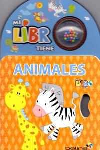 ANIMALES - MI LIBRO TIENE