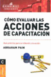 Como Evaluar Las Acciones De Capacitacion - Abraham Pain