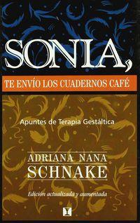 SONIA, TE ENVIO LOS CUADERNOS CAFE