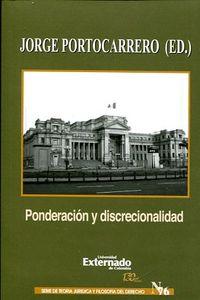 PONDERACION Y DISCRECIONALIDAD - UN DEBATE EN TORNO AL CONC