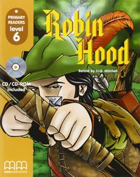 (pr 6)  Robin Hood (+cd) - Aa. Vv.
