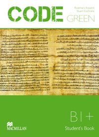 Code Green Int-upper B1+ - Aravanis Vassilakis