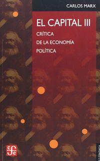 El  capital  -  Vol. Iii - Karl Marx