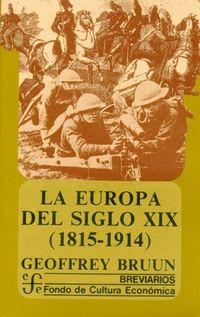 EUROPA DEL SIBLO XIX, LA (1815-1914)