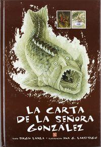 La carta de la señora gonzalez - Sergio Lairla