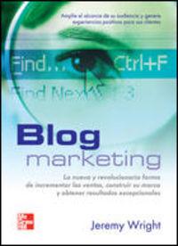 Blog Marketing - Jeremy Wright