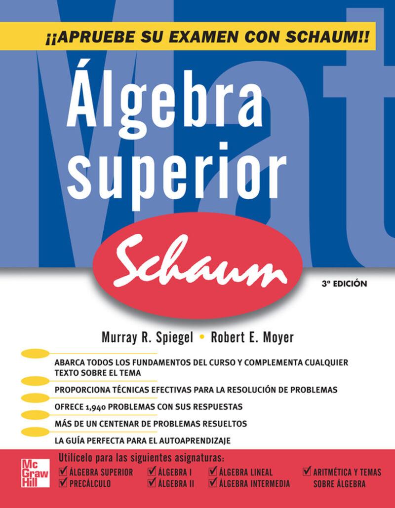 ALGEBRA SUPERIOR (3 ED)