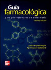 GUIA FARMACOLOGICA PARA ENFERMERIA