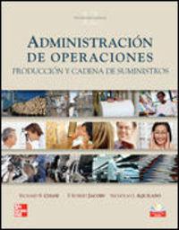 Administracion De Operaciones (12ª Ed. ) - Richard B. Chase
