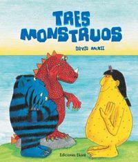 Tres Monstruos - David Mckee