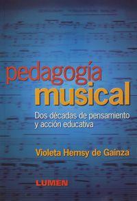 PEDAGOGIA MUSICAL