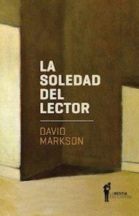 La soledad del lector - David Markson