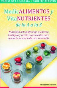 MEDICAMENTOS Y VITANUTRIENTES DE LA A A LA Z