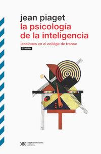 (2 ED) PSICOLOGIA DE LA INTELIGENCIA, LA