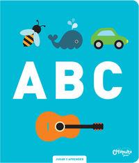 Abc - Jugar Y Aprender - Los Editores De Image Book