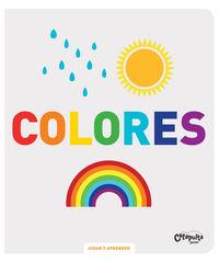 Colores - Jugar Y Aprender - Los Editores De Image Book