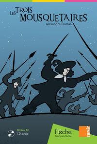 Trois Mousquetaires, Les (a2)  (+cd) - Alexandre Dumas