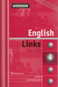 Eso - Eng Links 4 Wb (+cd) - Linda  Marks  /  Juan Carlos  Dominguez Capote