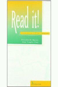 Eso 3 / 4 - Read It! - Aa. Vv.