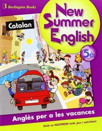 Ep 5 - Vacances - New Summer English (+cd)  (ed Catalana) - Aa. Vv.