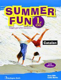 Eso 1 - Vacances - Summer Fun (pack)  (ed Catalana) - Aa. Vv.