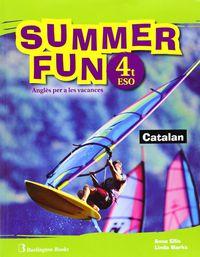 Eso 4 - Vacances - Summer Fun (pack)  (ed. Cat) - Aa. Vv.