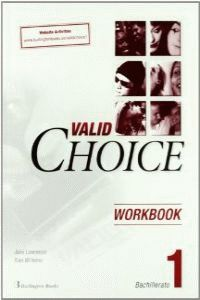 Bach 1 - Valid Choice Wb - Jane Lawrence